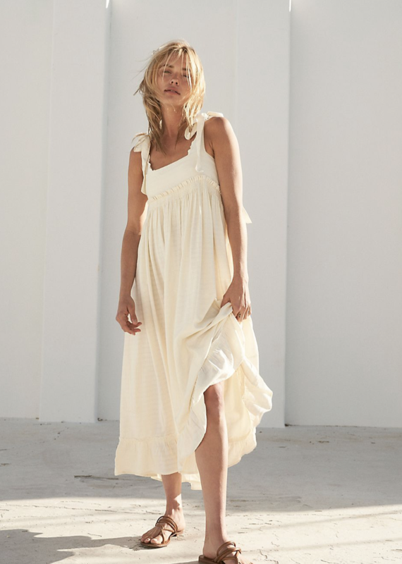 Free People Gretchen Pinafore Dress