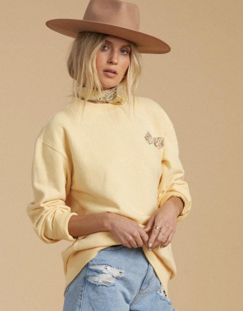 Billabong Salty Blonde After Sunset Sweatshirt