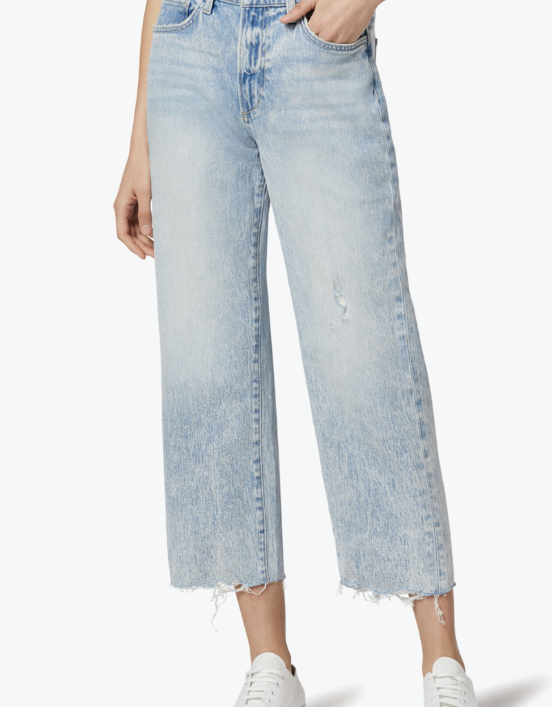 Joes Jeans Joe's: Blake High-Rise Deconstructed Wide Leg Crop