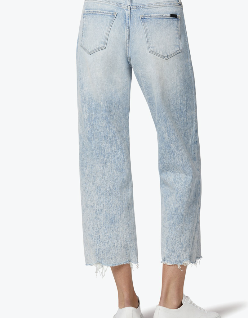 Joes Jeans Blake High-Rise Deconstructed Wide Leg Crop