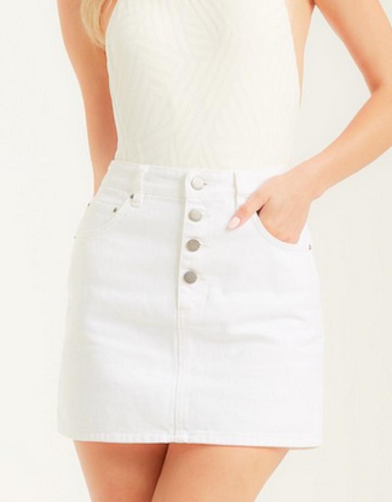 Billabong Cute As A Button Skirt