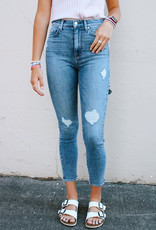 7 For All Mankind 7 For All Mankind: High Waist Ankle Skinny