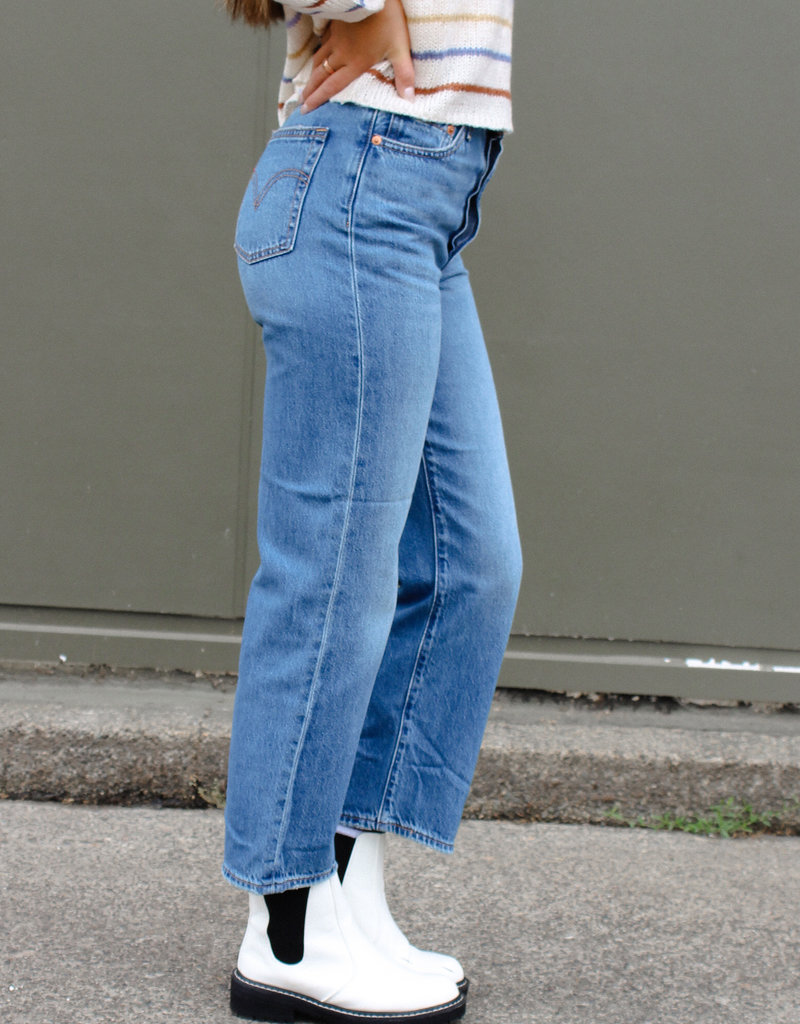 Levi Strauss & Co Ribcage Straight Ankle