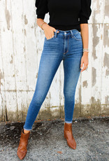 Joes Jeans Charlie High-Rise Skinny Ankle
