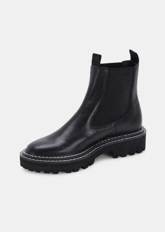 Dolce Vita Moana Boots in Black Leather