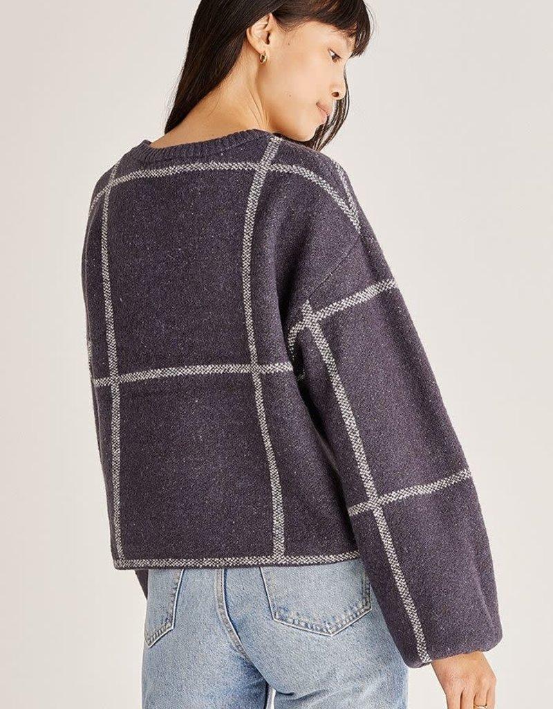 ZSupply Solange Plaid Sweater