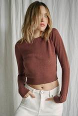 RVCA Paris Pointelle Sweater