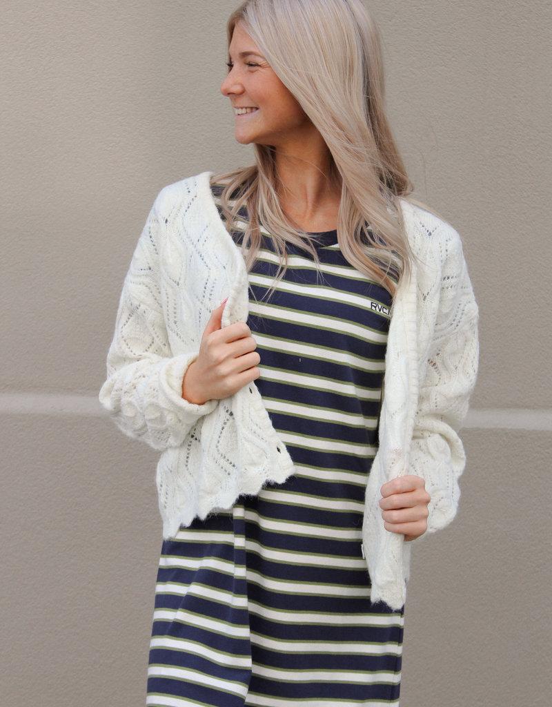 RVCA Cafe Cardigan Sweater