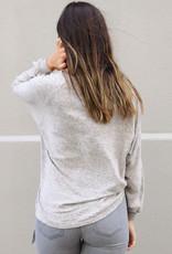 ZSupply Plira Marled V-Neck Pullover