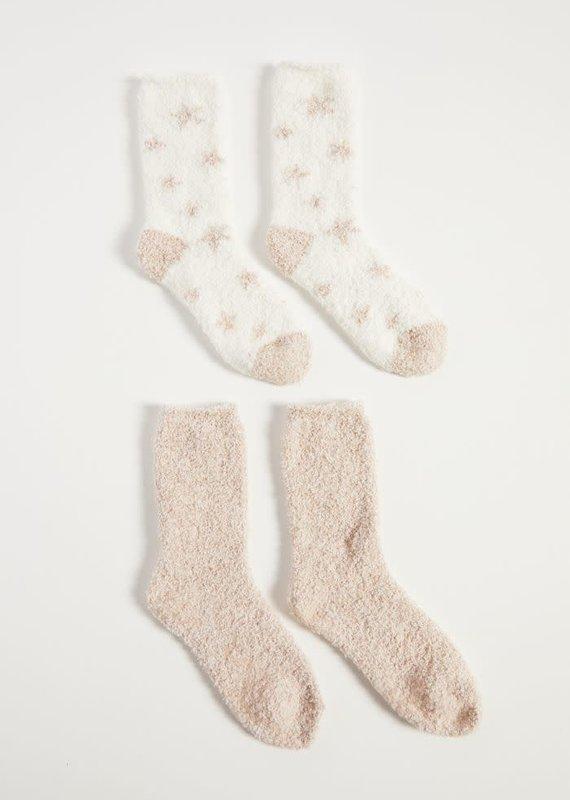 ZSupply Cozy Plush Socks (2 Pack)