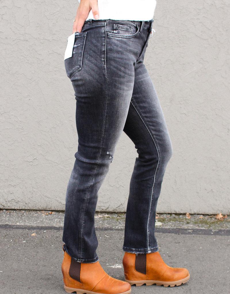 Mid-Rise Straight Leg