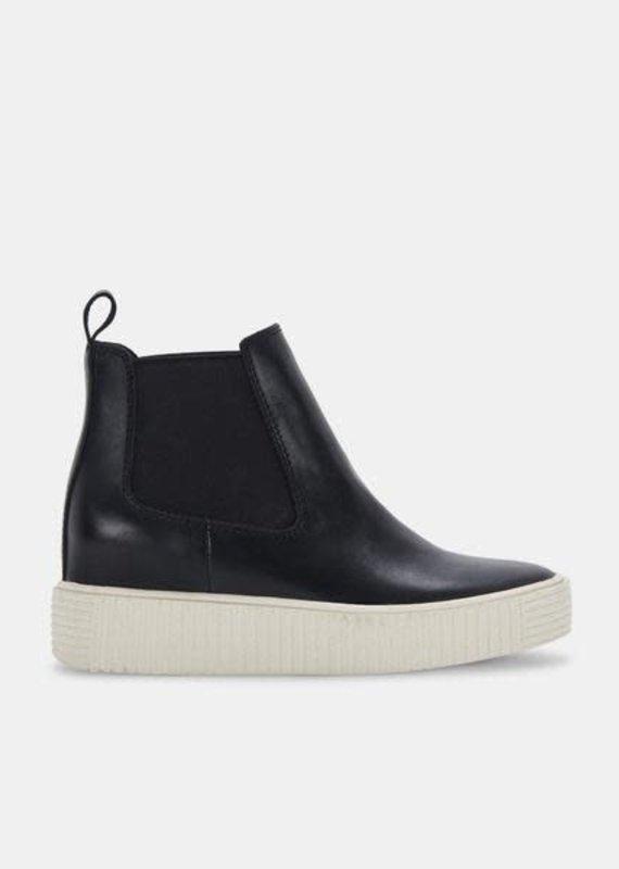 Dolce Vita Dolce Vita: Cola Sneakers in Black Leather
