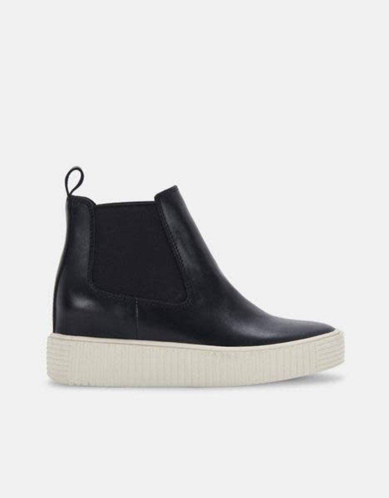 Dolce Vita Cola Sneakers in Black Leather