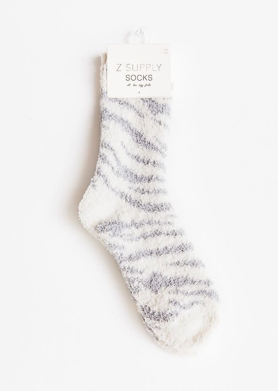 ZSupply Zebra Plush Socks