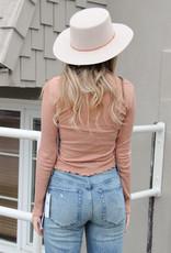 Amuse Society Mia Long Sleeve Knit Top