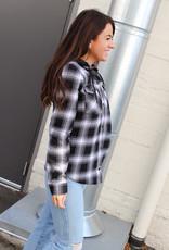 Volcom Hooded Flannel Jacket