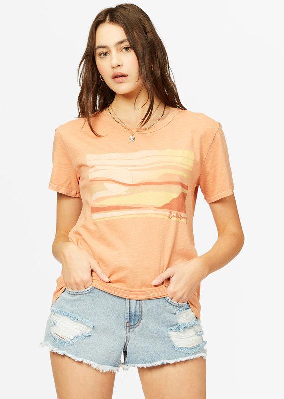 Billabong Tropical Oasis Overdyed Boyfriend T-Shirt