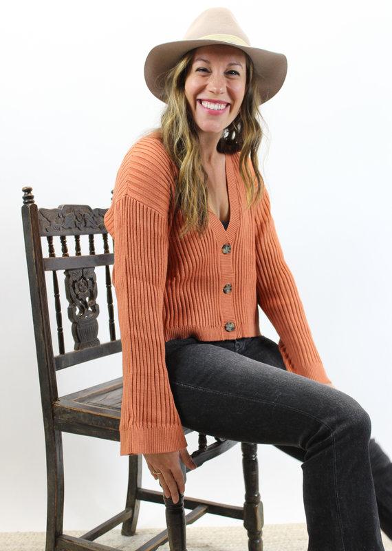 RVCA Charmed Cardigan Sweater
