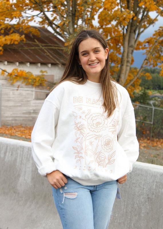 Billabong Ride In Oversized Crewneck Sweatshirt