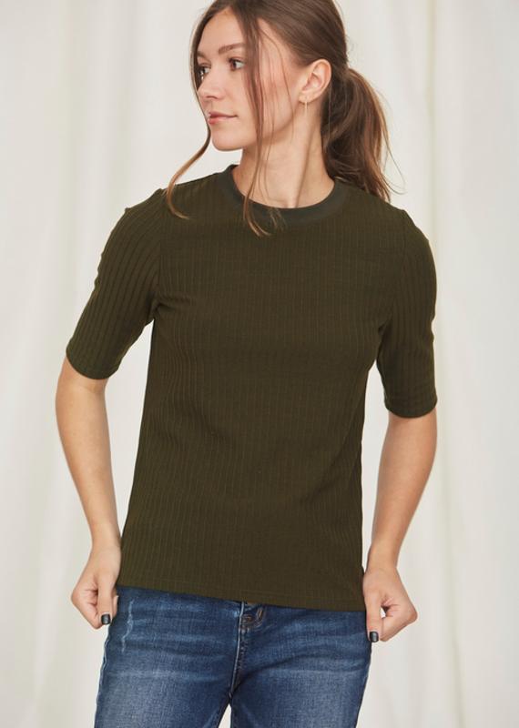 Ebony Sweater Tee