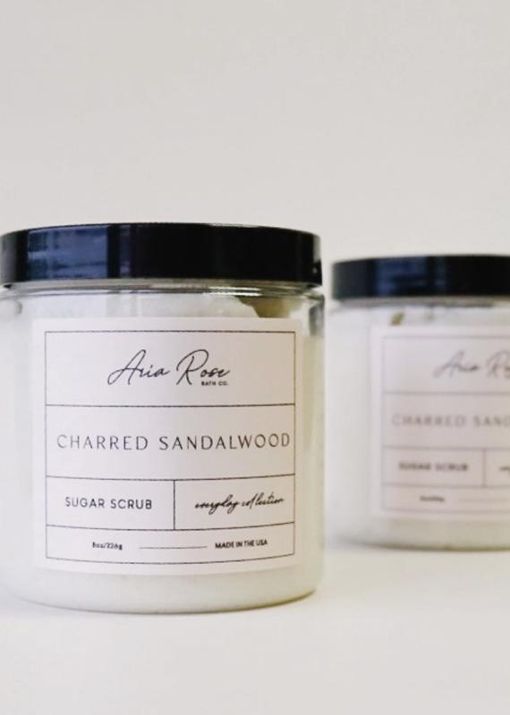Charred Sandalwood Sugar Scrub