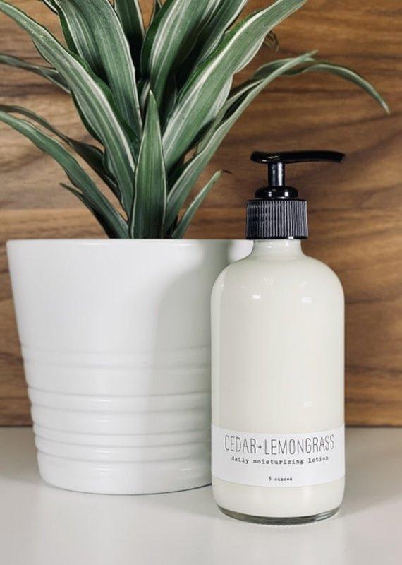 Daily Moisturizing Lotion | Cedar + Lemongrass