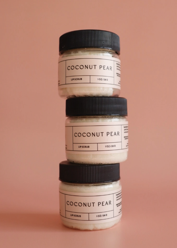 Coconut Pear Lip Scrub