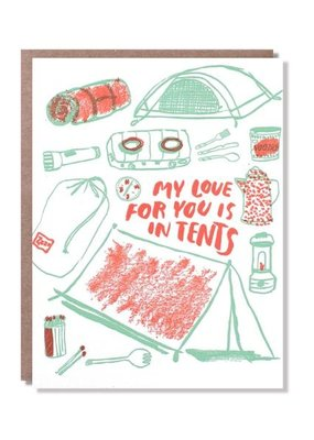 Egg Press Love For You Is In Tents
