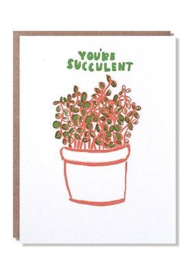 Egg Press You're Succulent