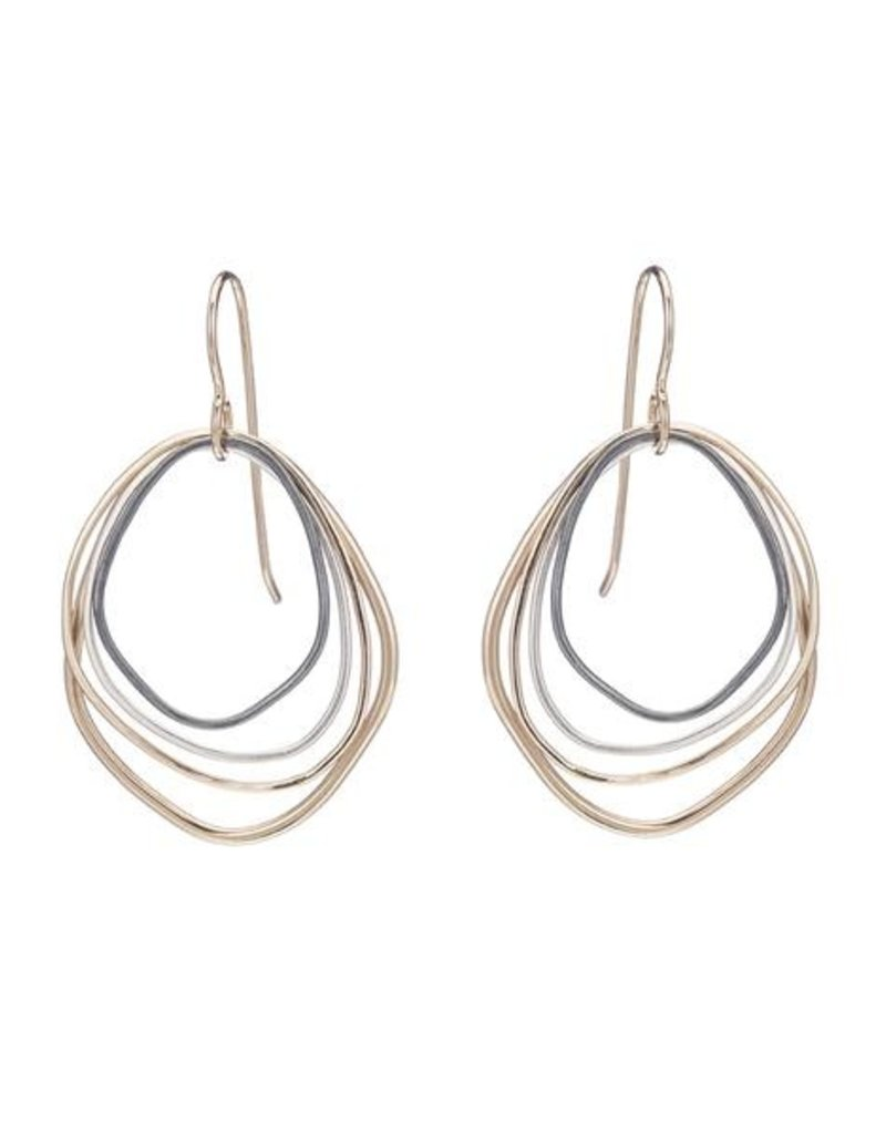 Colleen Mauer Small Topography Earrings