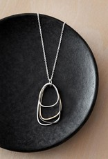 Colleen Mauer Tri-Toned Multi-Triangle Necklace