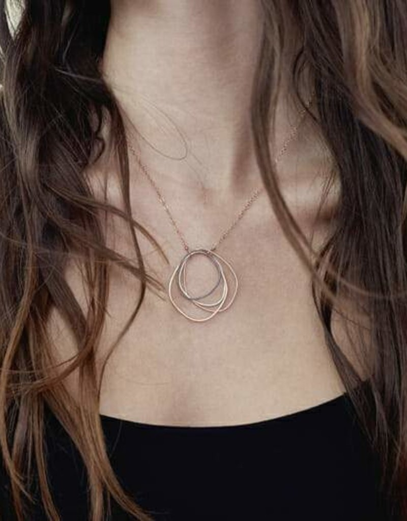Colleen Mauer Topography Gold Chain Necklace