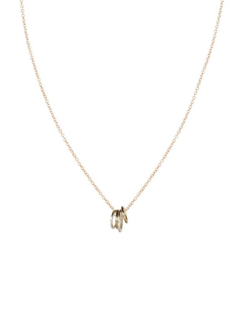 Colleen Mauer Familia Necklace Gold Chain