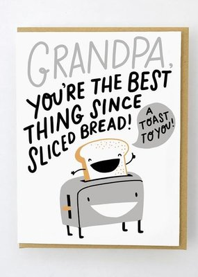 Egg Press Toast To Grandpa