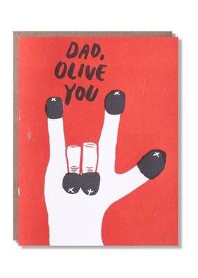 Egg Press Olive You Dad
