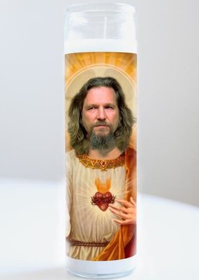 The Dude Candle