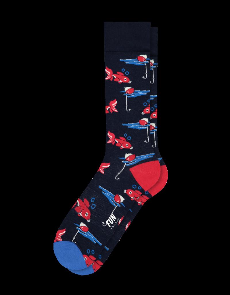 Fun Socks Fish and Bobber