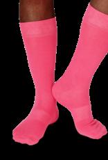 Fun Socks Pink Solid