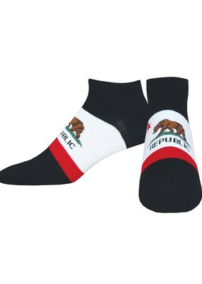 Socksmith California Bear Low