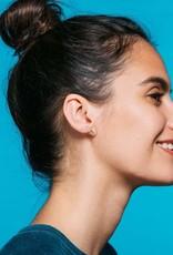 Kris Nations Rainbow Earrings Silver