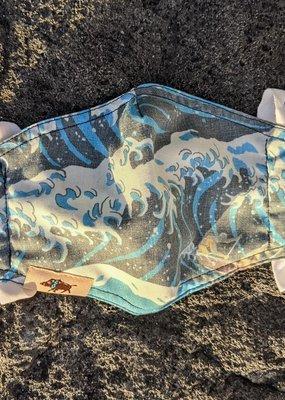 Western Aloha Alenuihaha Wave Mask