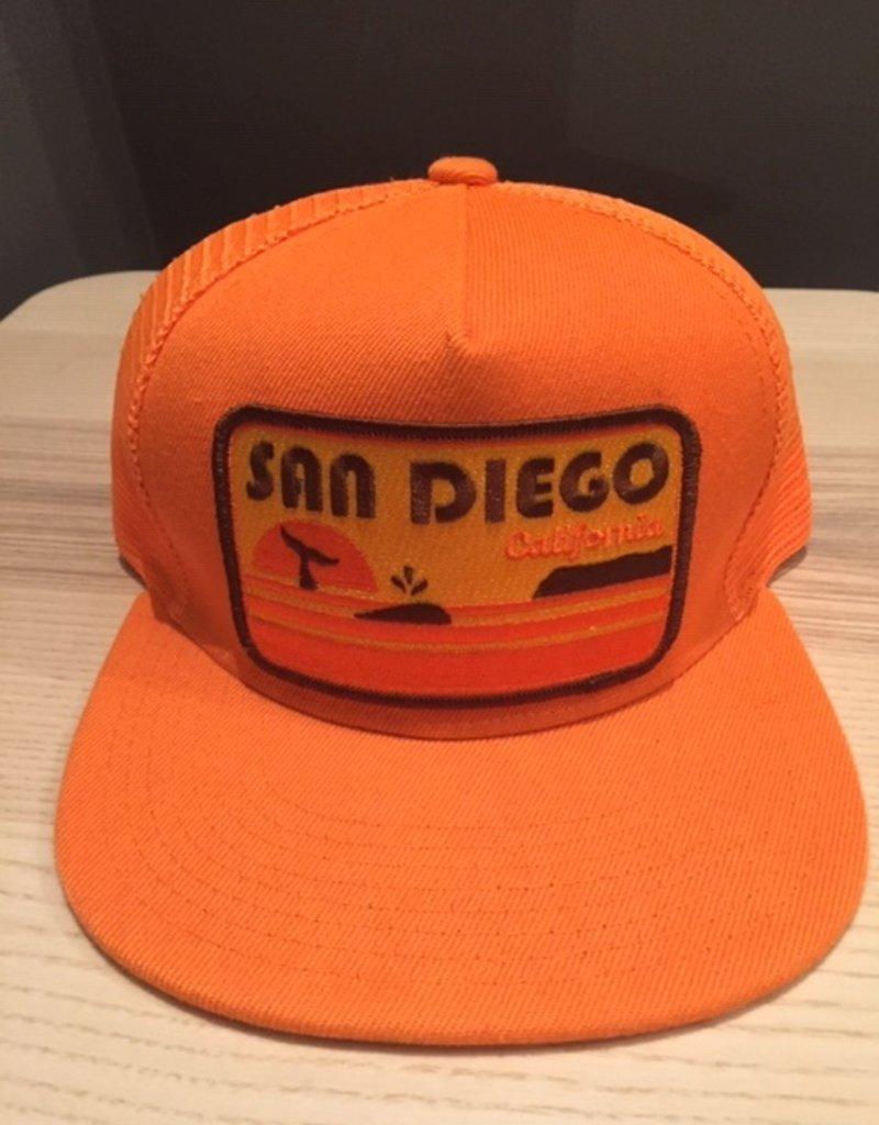 Venture San Diego Orange Townie Trucker