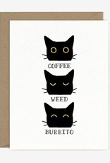 Coffee Weed Burrito