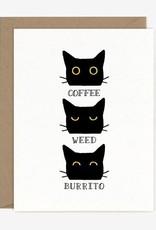 Paper Pony Coffee Weed Burrito