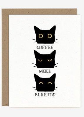 Coffee Weed Burrito