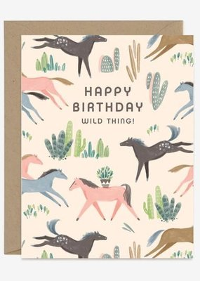 Wild Mustang Birthday