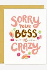 Paper Pony Crazy Boss Sympathy