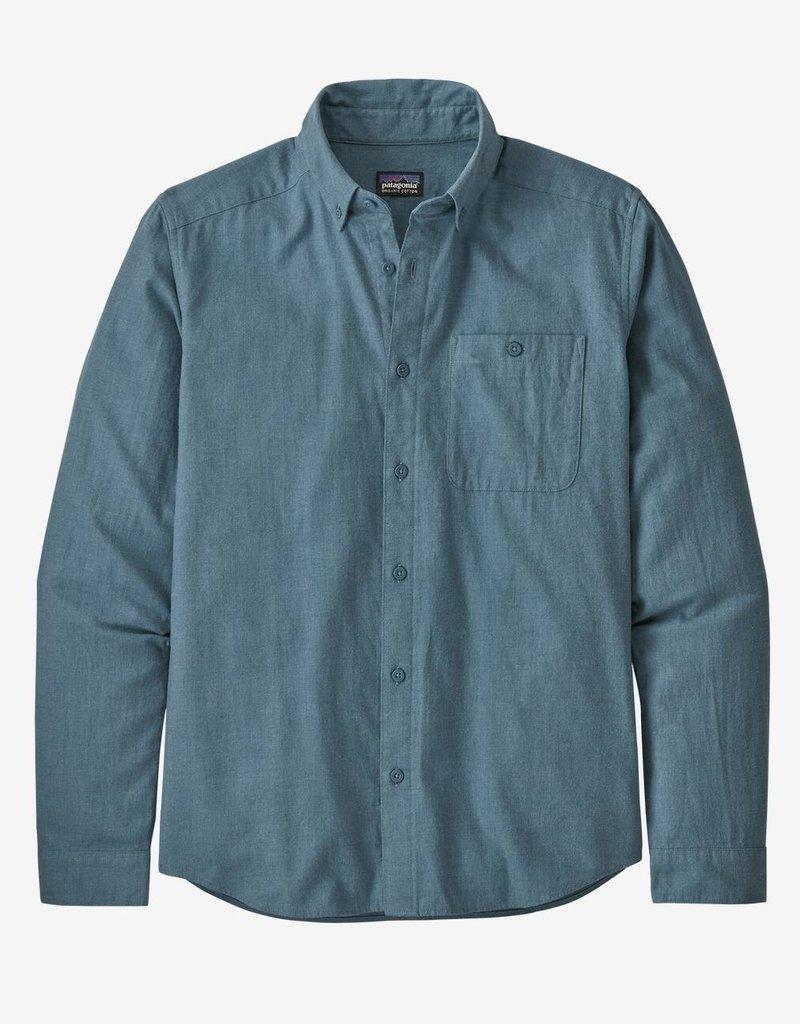 Patagonia M's L/S Vjosa River Pima Cotton Shirt