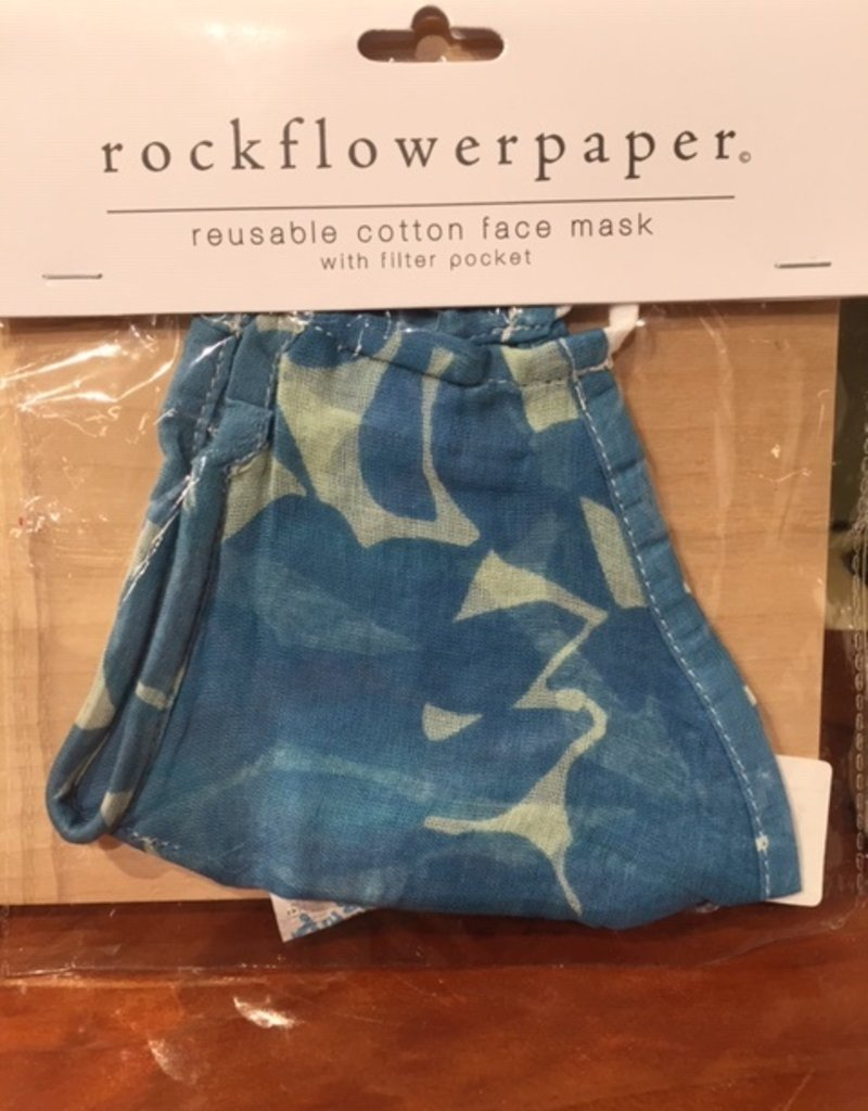 Rock Flower Paper Filter Mask