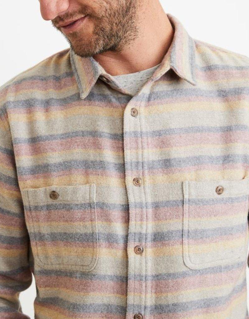 Marine Layer Vicente Cotton-Wool Overshirt